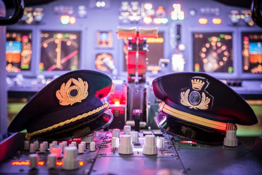 cockpit pilot hats