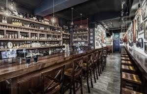 The Speakeasy Irish bar inside