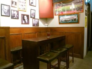 Bar back corner