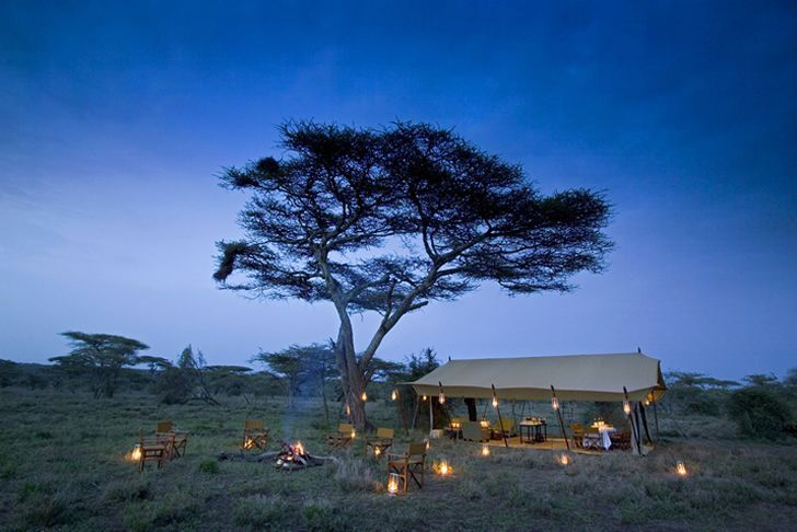 Serengeti Under Canvas Wide Fireside
