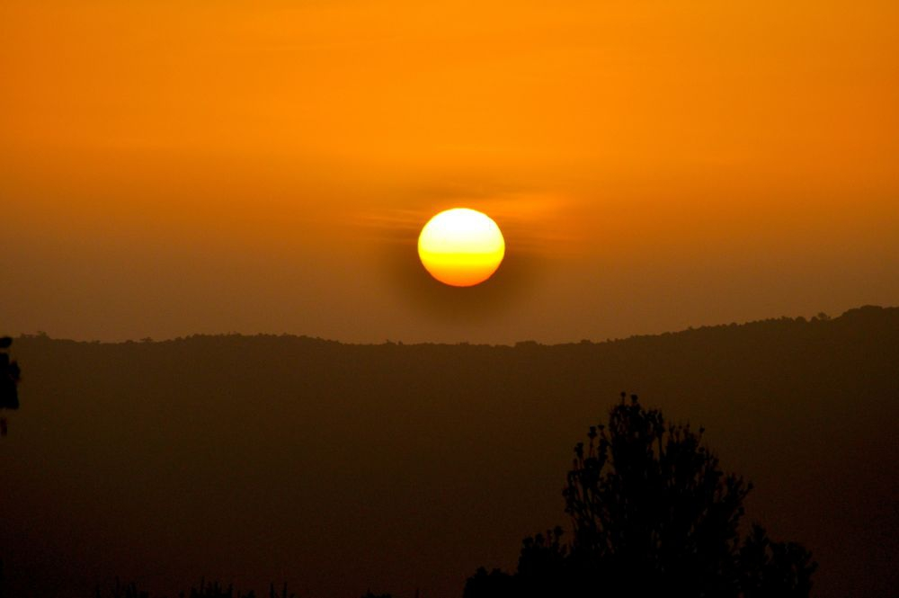 African sunset. Photo: Iain Beable