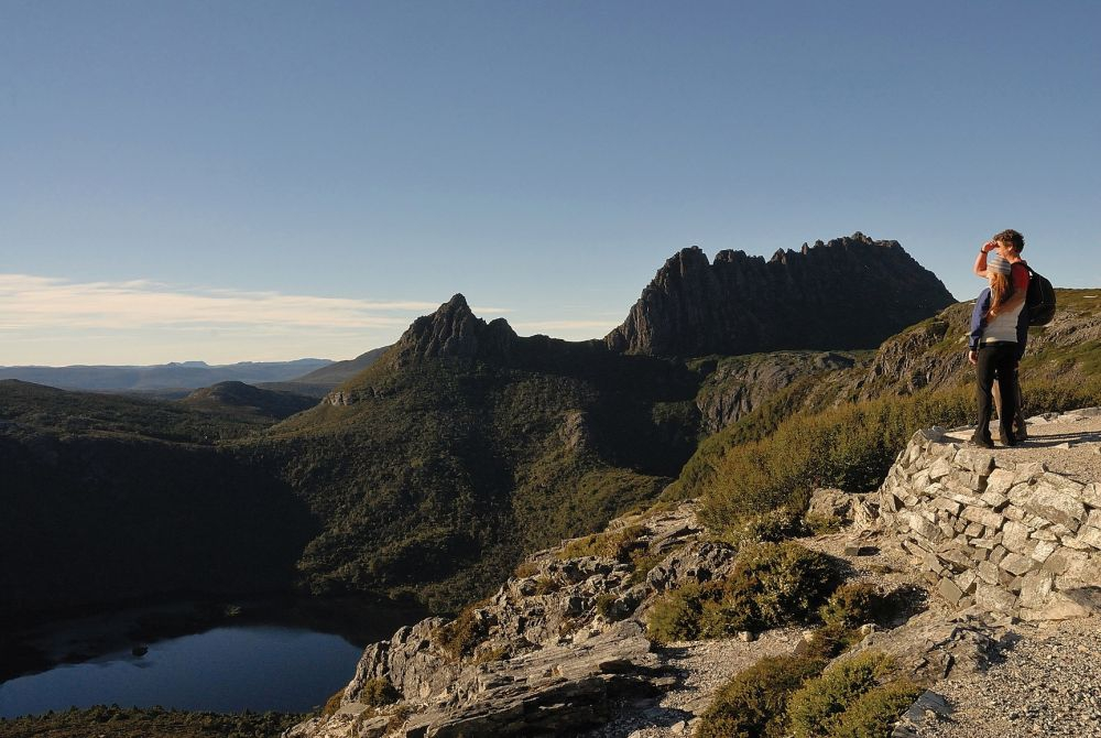 Cradle Mountain and Dove Lake. Copyright: Tourism Tasmania & Michael Walters