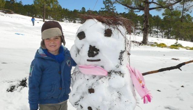 3. It snows in winter