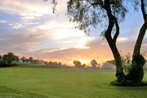 Golf del Sur at Sunset