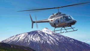 Helidream Helicopter tours in Tenerife