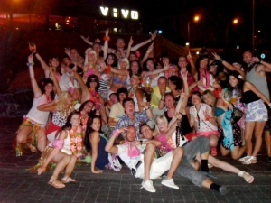 Organised chaos in Tenerife!