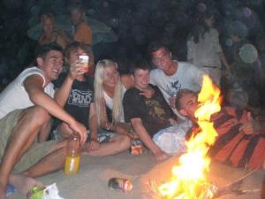 Beach parties galore!