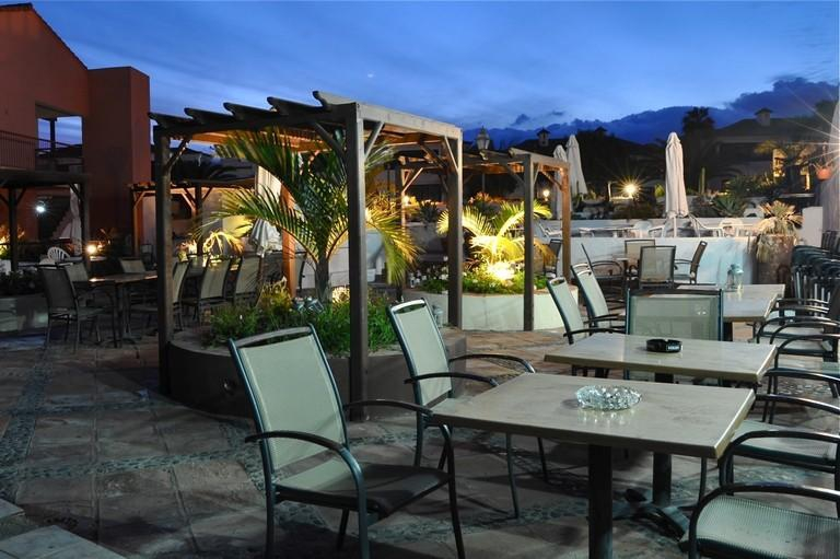 The Terrace Bar Of The Terrace Bar In Tenerife My Destination Tenerife