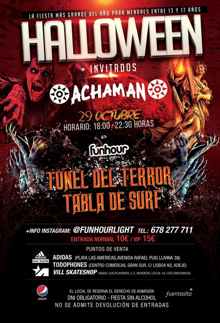 Achaman Halloween Party for Teens