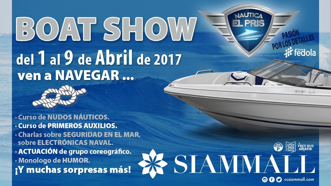 Boat Show in Siam Mall