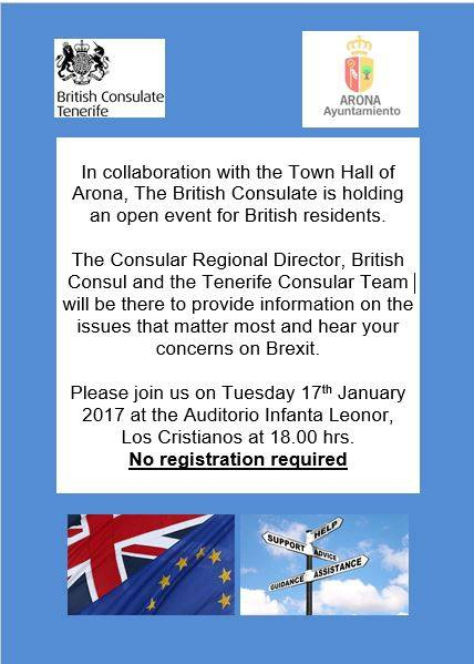 British Consulate Event for UK Residents on the Island