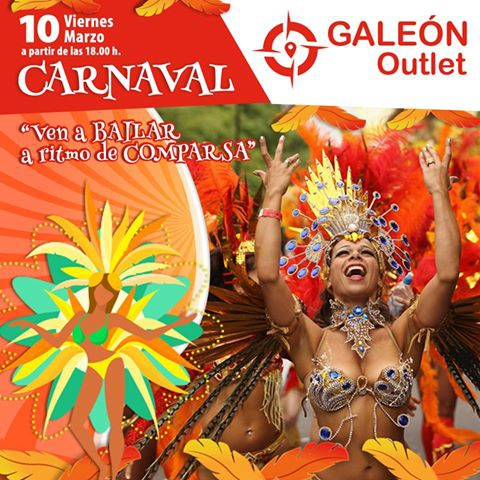 Carnaval at Galeon Outlet