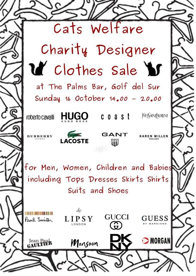 Cats Welfare Designer Clothes Sale