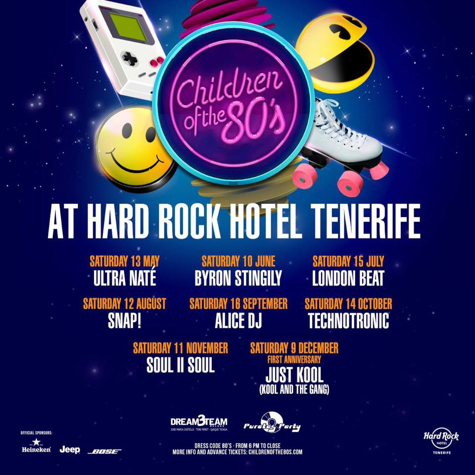 Children of the 80'S at Hard Rock Hotel