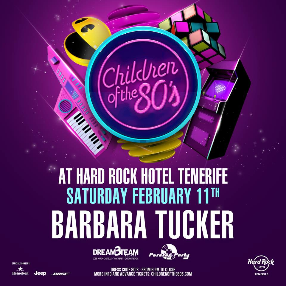 Children of the 80s Party at Hard Rock Hotel