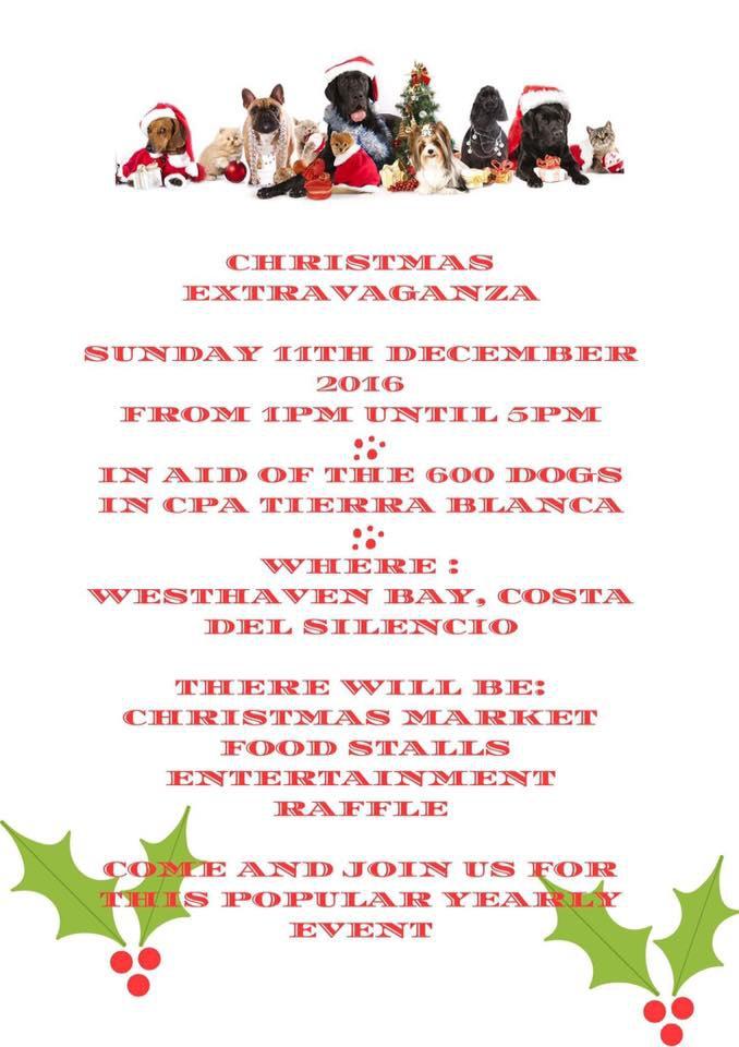 Christmas Extravaganza for Tierra Blanca Animal Shelter