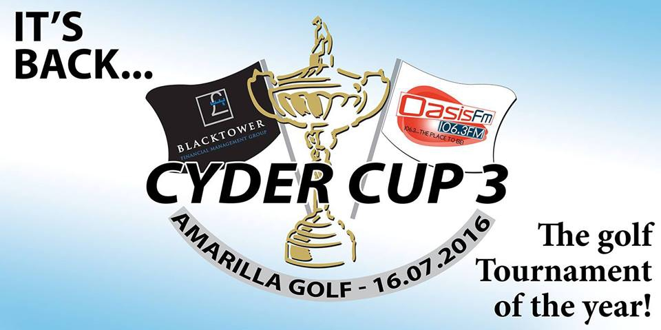 Cyder Cup 3 - The Golf Tournament of the year