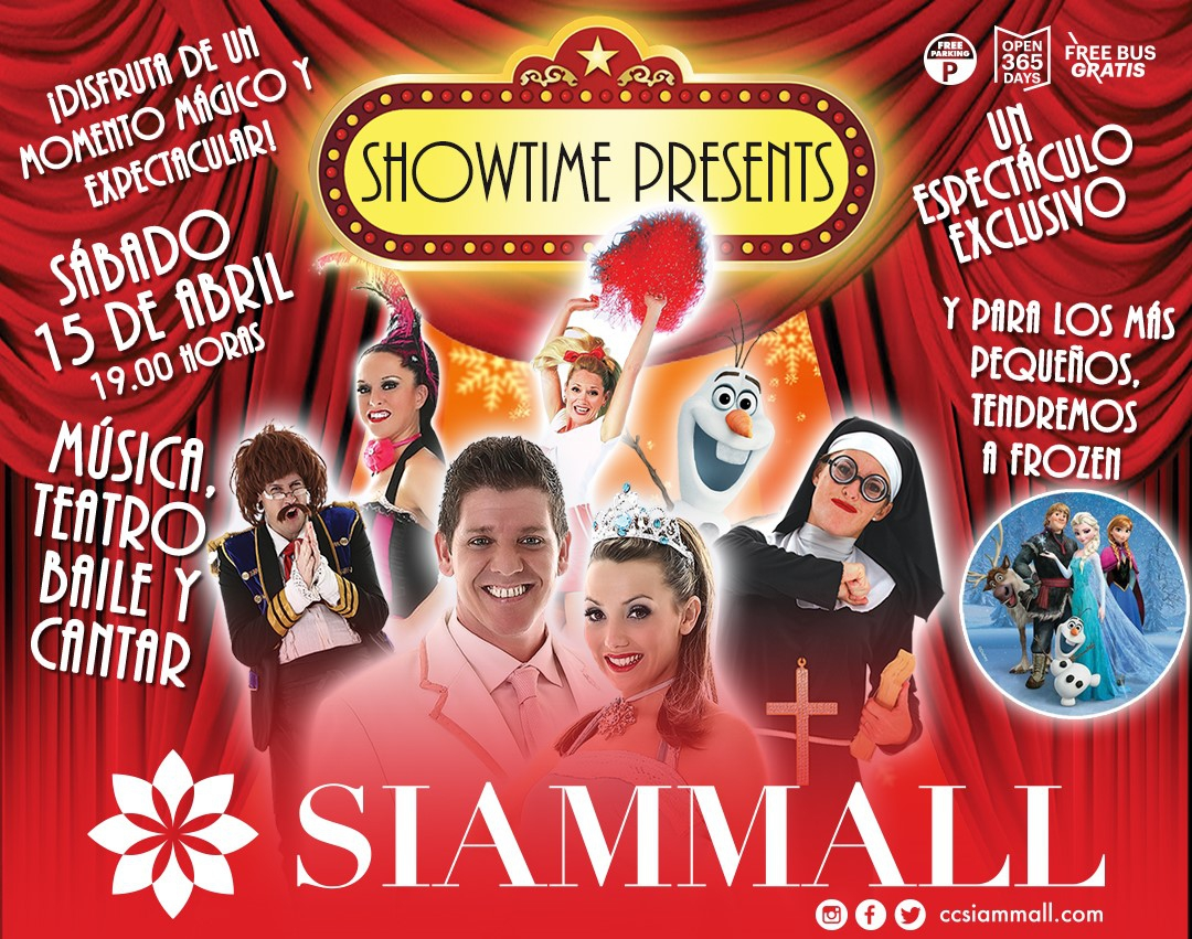 Easter with Showtime in Siam Mall