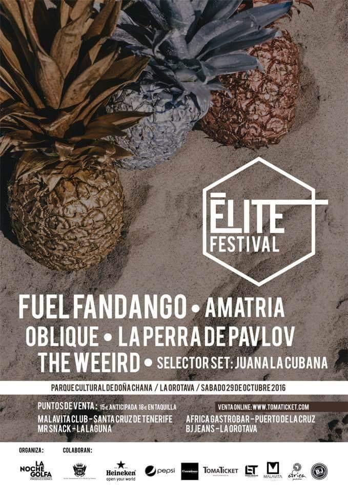 Elite Festival 2016 La Orotava