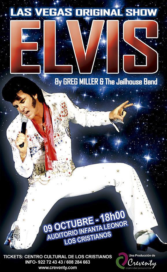 Elvis Comes To Tenerife