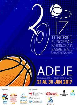 European Wheelchair Basketball Championships Tenerife