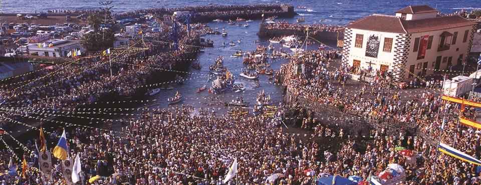Fiestas del Carmen in Puerto de la Cruz