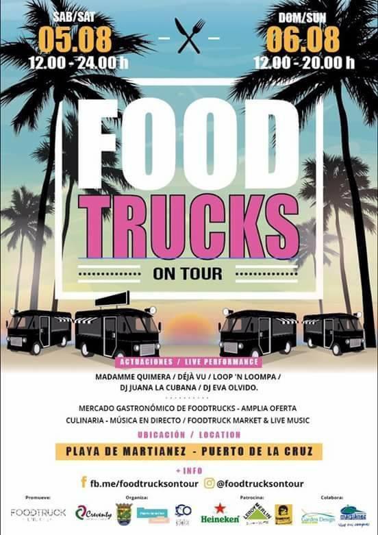 Food Trucks on Tour in Puerto de la Cruz