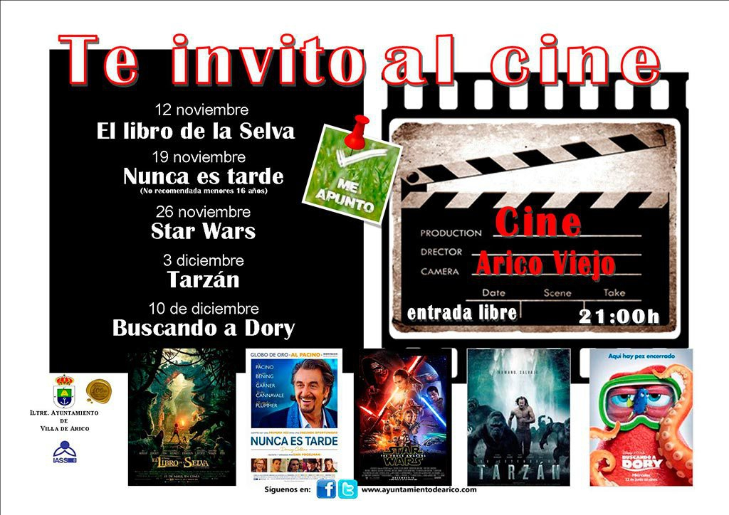 Free Cinema Nights in Arico Viejo