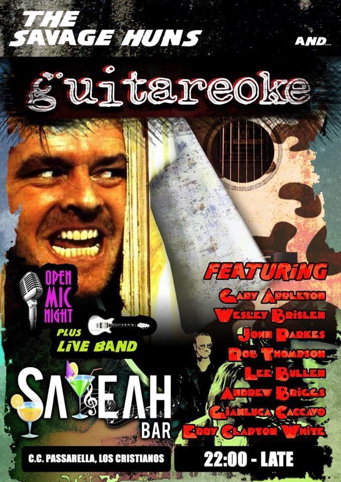 Guitareoke @ Sayeah Bar