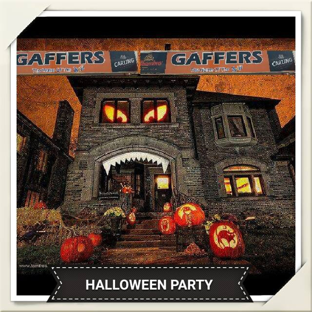 Halloween Party at Gaffers Grotto of Death