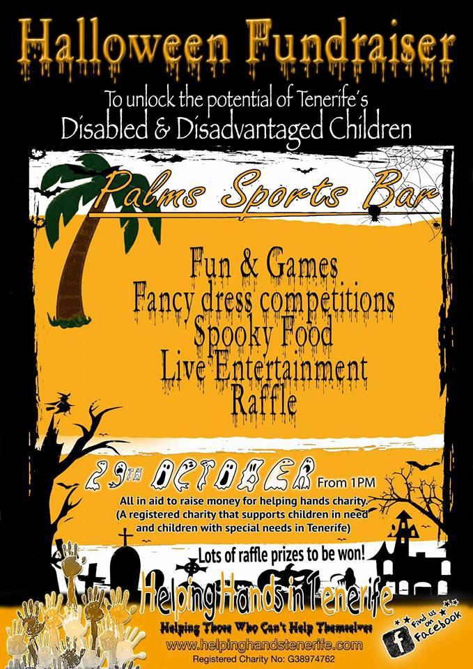 Halloween Fundraiser Party at Palms Sports Bar