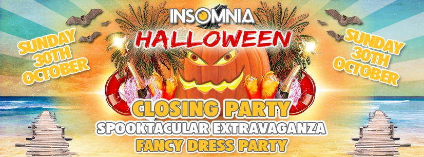 Insomnia Halloween Closing Party