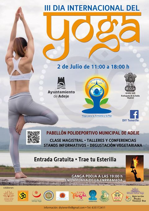 International Day of Yoga in Adeje