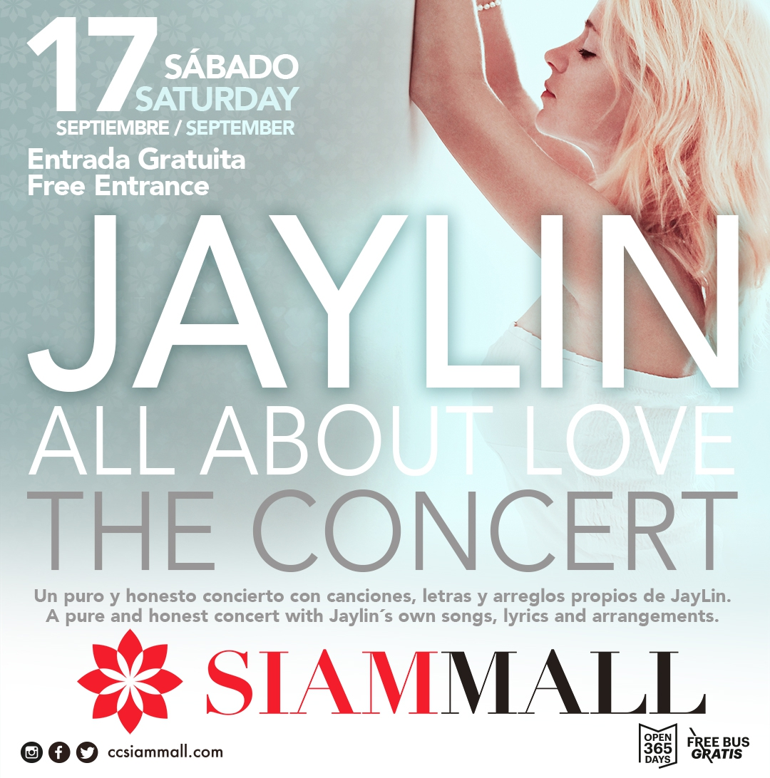 Jaylin Concert all About Love