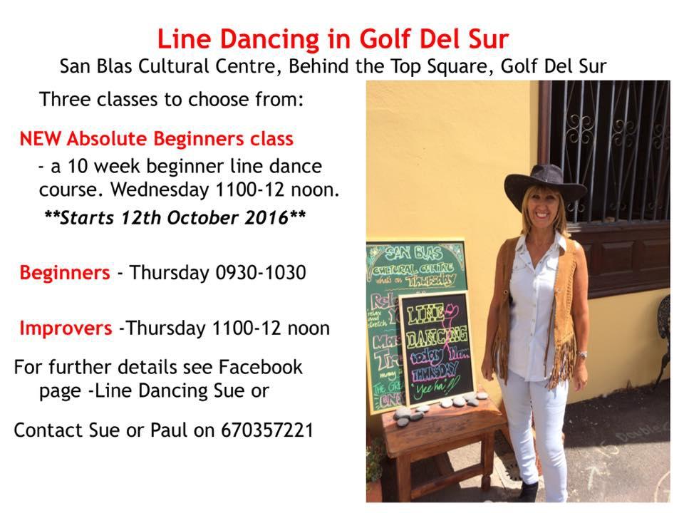 Line Dancing Course Golf del Sur