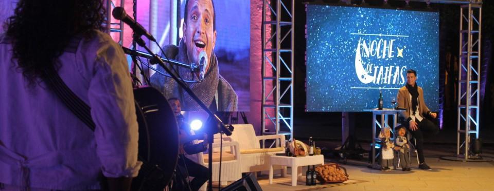 Noche de Taifas Folklore TV Show Filming