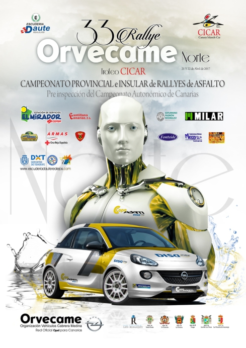 Orvecame Car Rally in North Tenerife