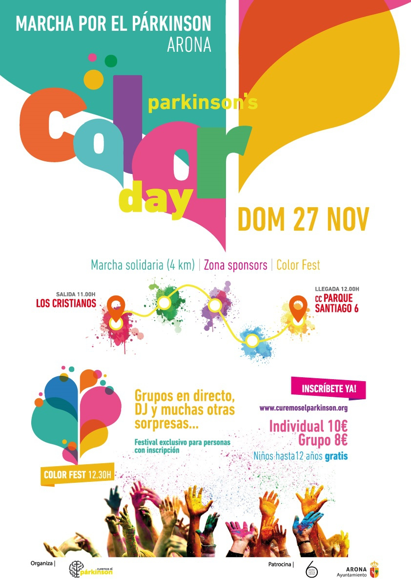 Parkinson's Colour Day Charity Event