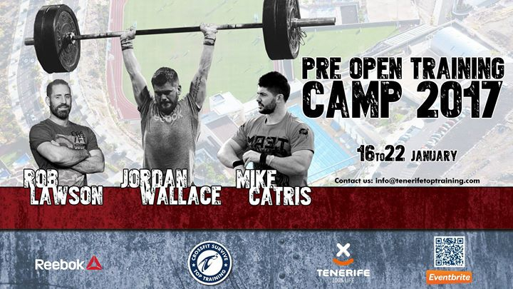 Pre Open Training Camp 2017