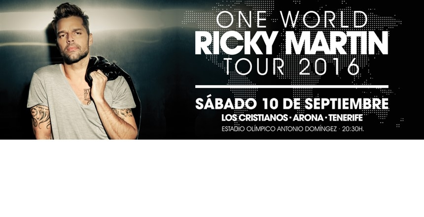 Ricky Martin is coming to Los Cristianos!