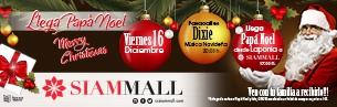 Santa Claus come in Siam Mall