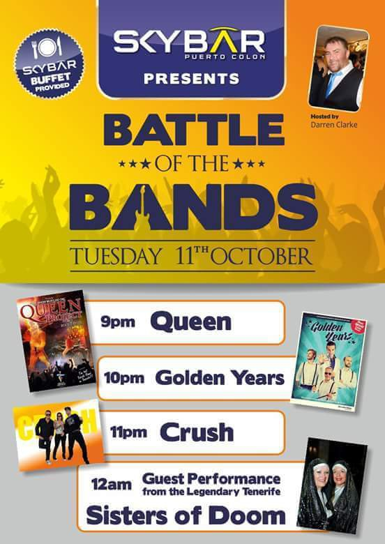 SkyBar Presents Battle of the Bands