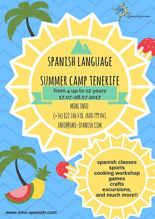 Spanish Language Summer Camp Tenerife