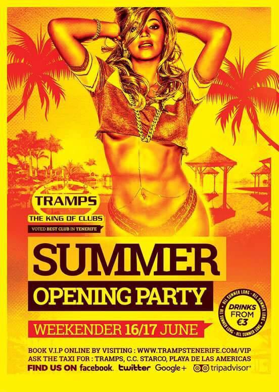 Summer Opening Party at Tramps