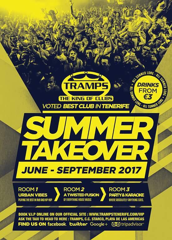 Summer Takeover at Tramps