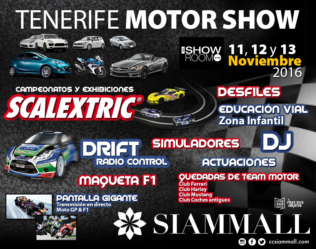 Tenerife Motor Show in Siam Mall
