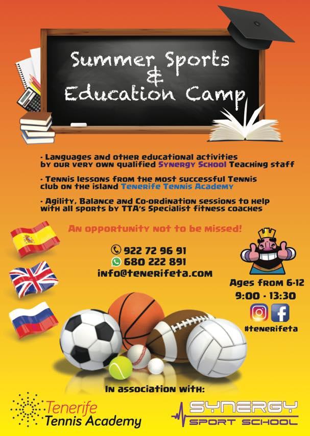 Tennis Academy Summer Camp