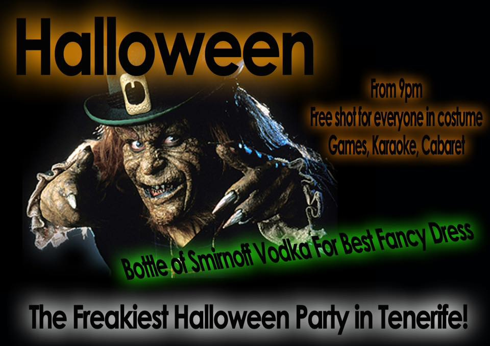 The Freakiest Halloween Party at The Irish Rover