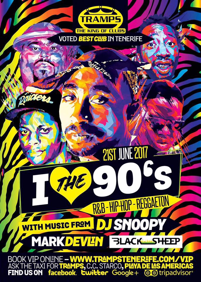 Tramps Presents I Love The 90s R&B