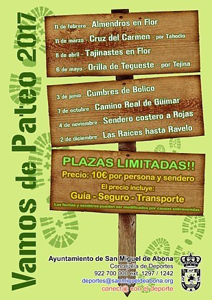 Vamos de Pateo - Guided Hikes